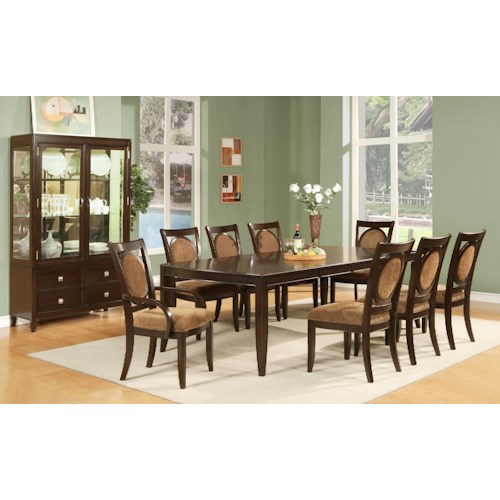 Steve Silver Montblanc Formal Dining Room Group