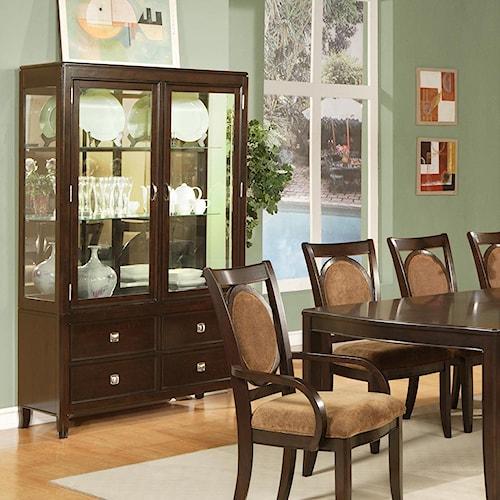 Steve Silver Montblanc Classic Curio Cabinet