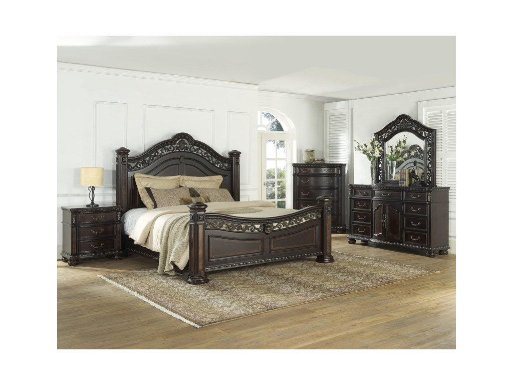 Morris Home Monte CarloDresser and Mirror Combo
