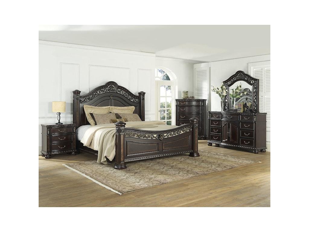 Morris Home Monte CarloKing Bed