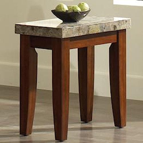 Steve Silver Montibello Rectangular Chairside End Table