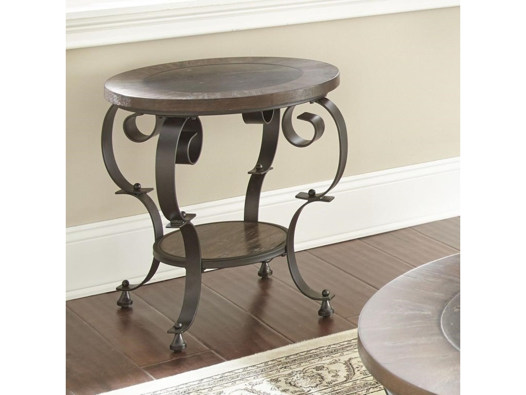 Steve Silver MulberryRound End Table