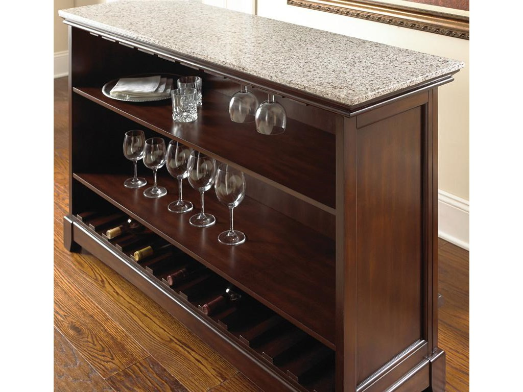 Steve Silver NewburyStone Top Bar Unit