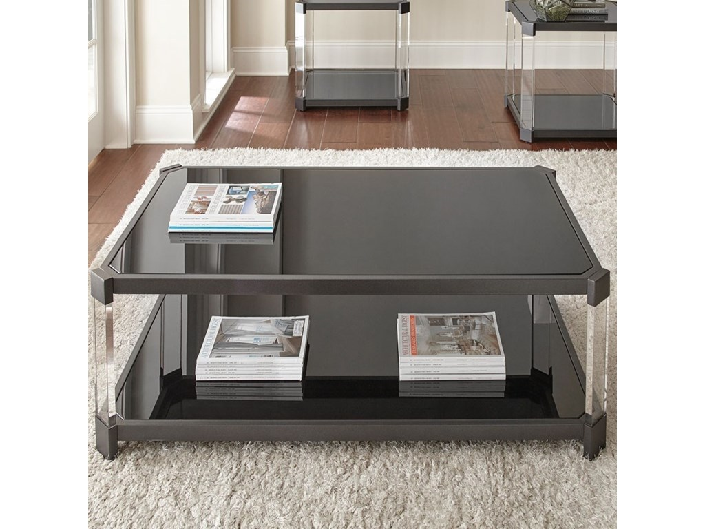Steve Silver NewtonCocktail Table with Casters