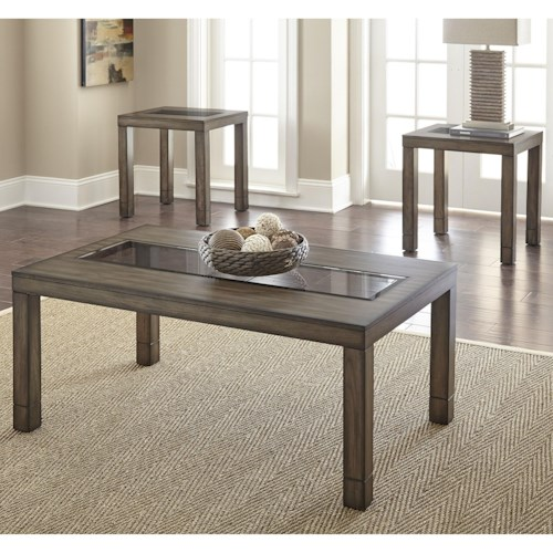 Steve Silver Normandy 3 Piece Living Room Table Set