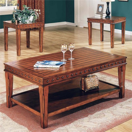 Steve Silver Odessa 3-Pack Transitional Occasional Table Group