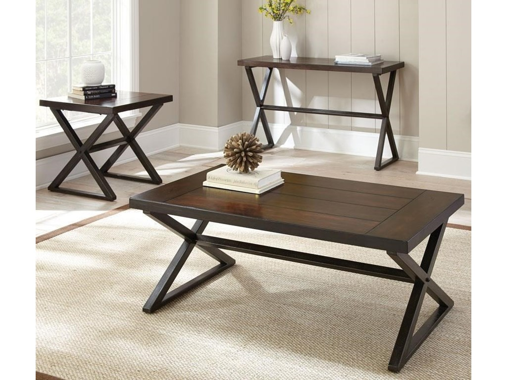 Steve Silver Omaha3 Piece Occasional Table Group