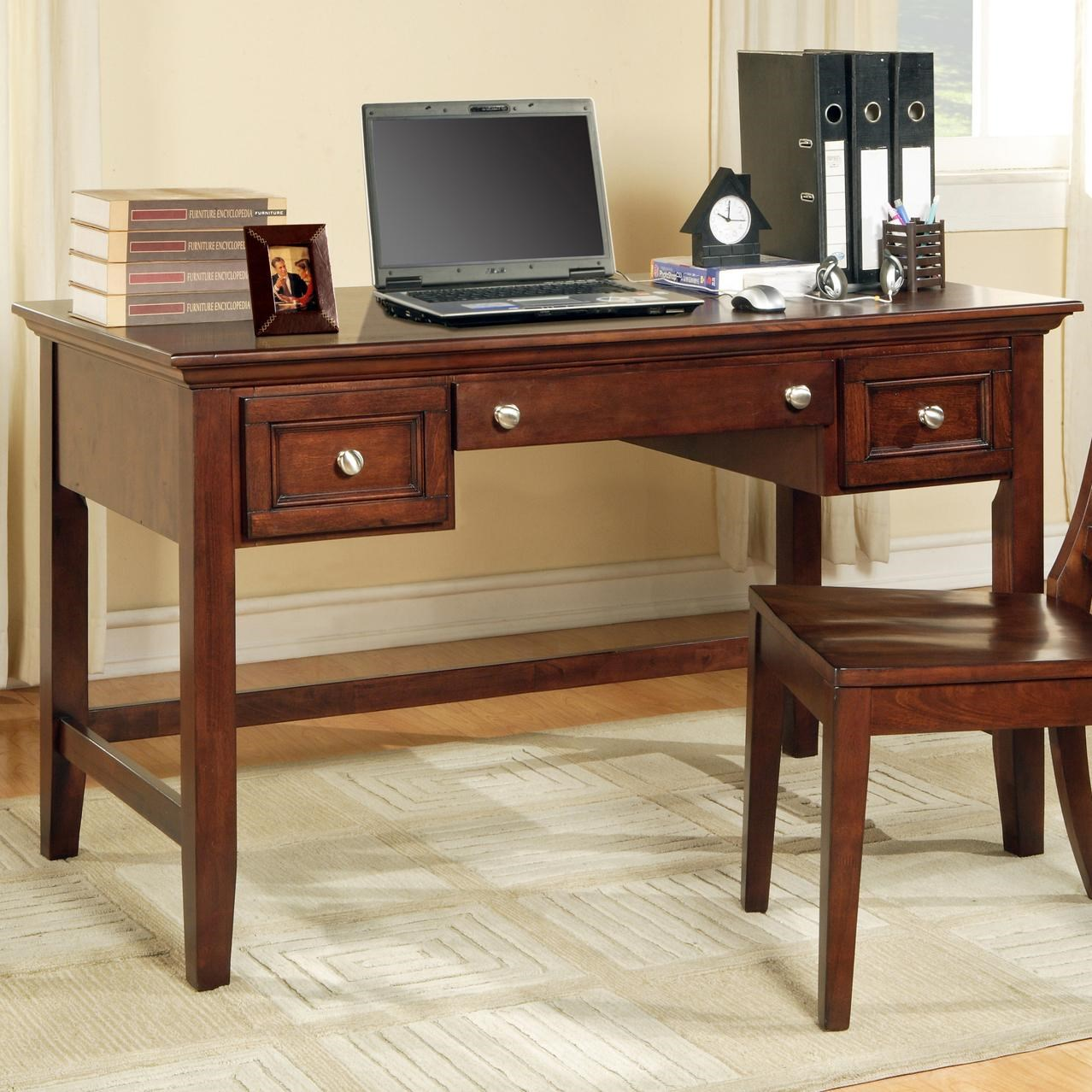 Superbe Steve Silver Oslo Transitional 2 Drawer Writing Desk With Keyboard Tray