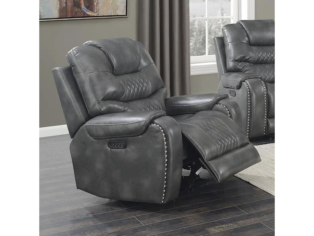 Morris Home Park AvenuePower Chair