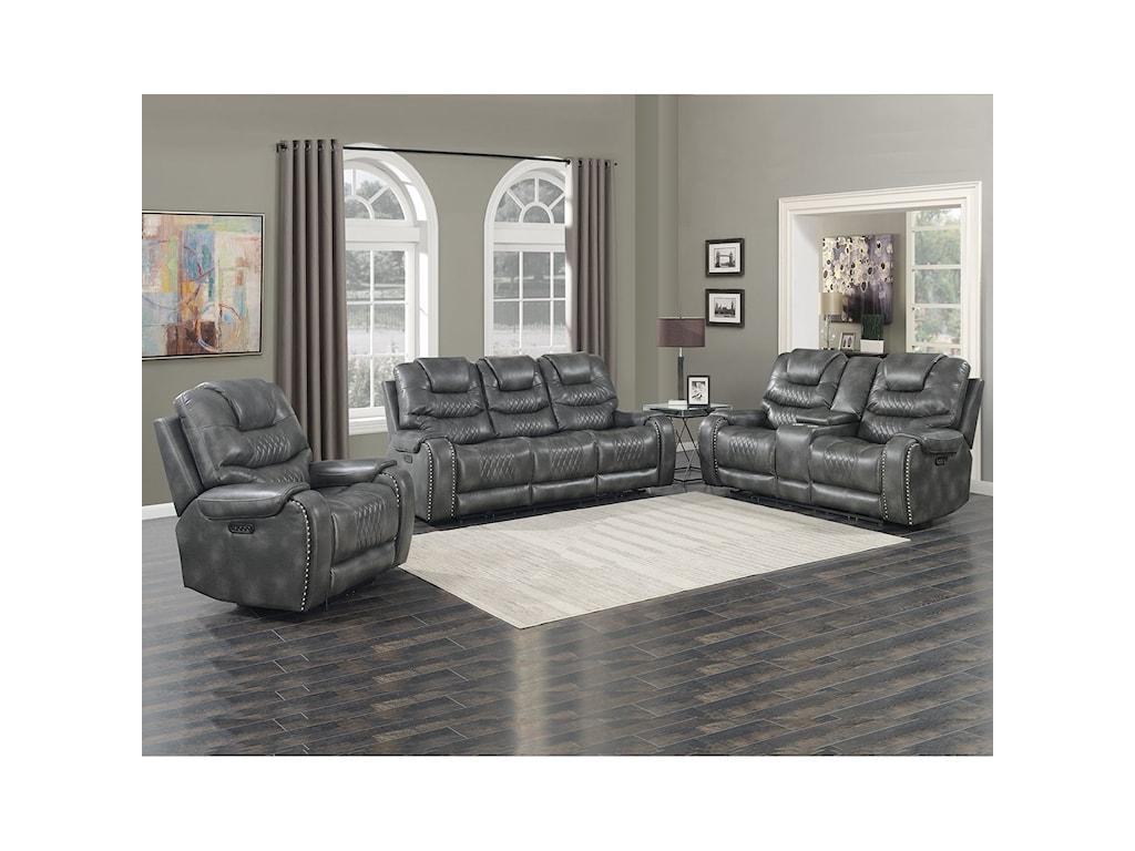 Steve Silver Park AvenuePower Sofa