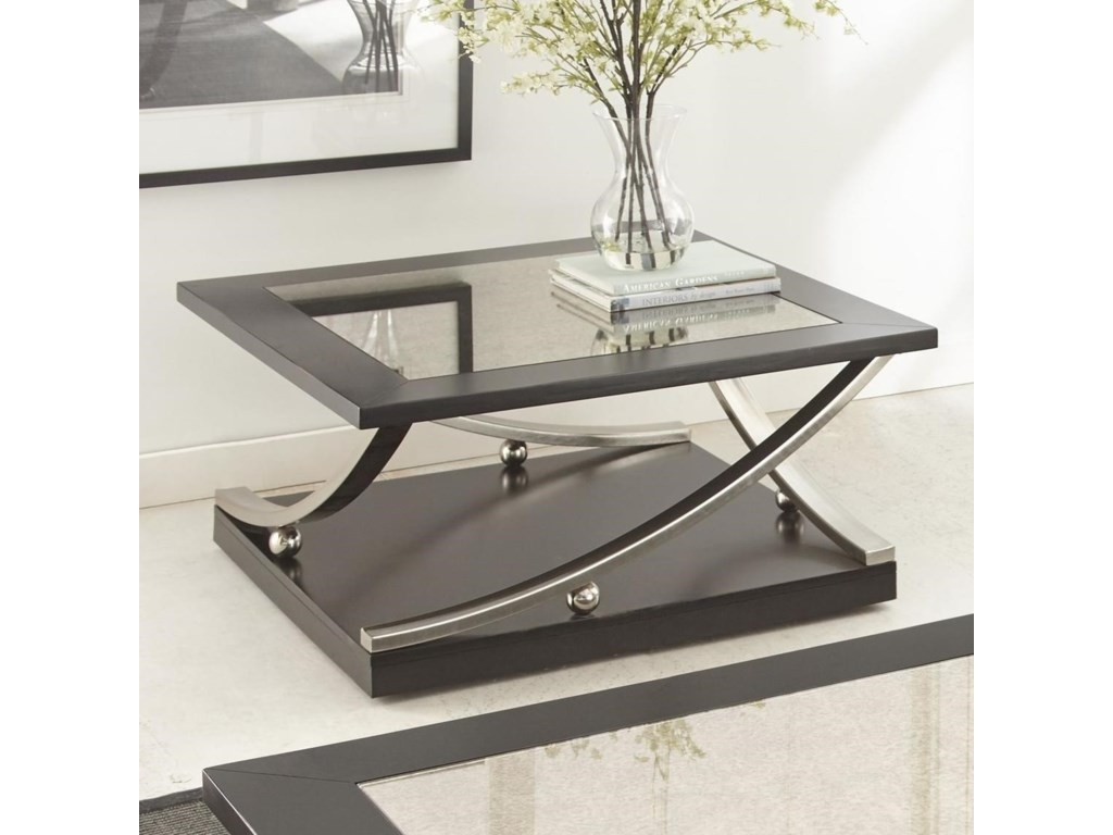 Steve Silver RamseySquare Cocktail Table with Caster