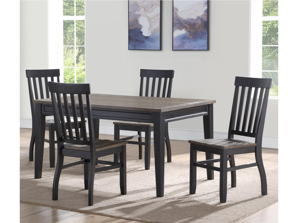 Belfort Essentials Raven5 Pc Dining Set