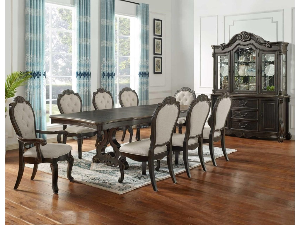 Steve Silver Rhapsody Dining Table With