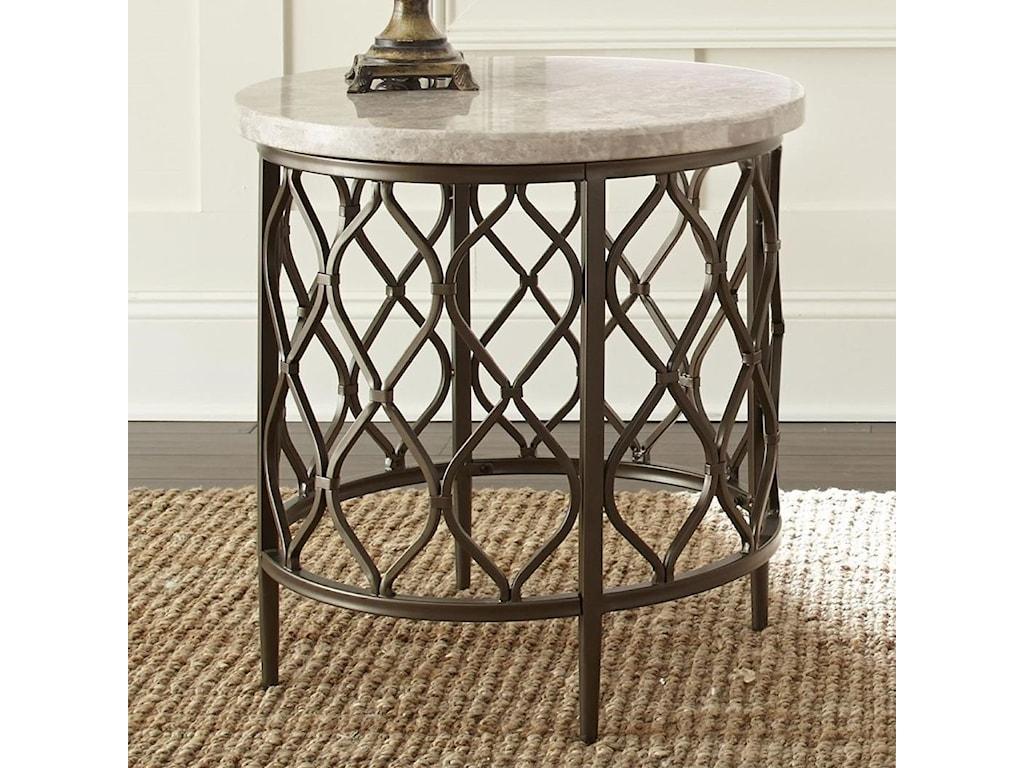 Morris Home Rolandstone Top End Table