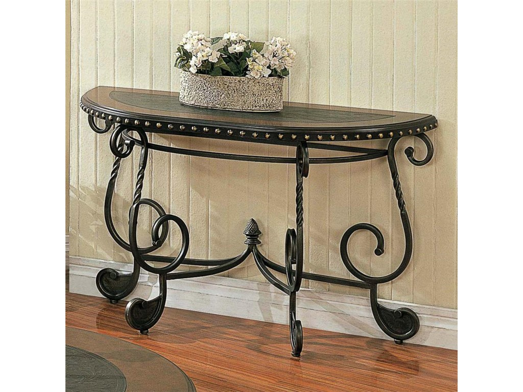 Steve Silver RosemontMetal Sofa Table