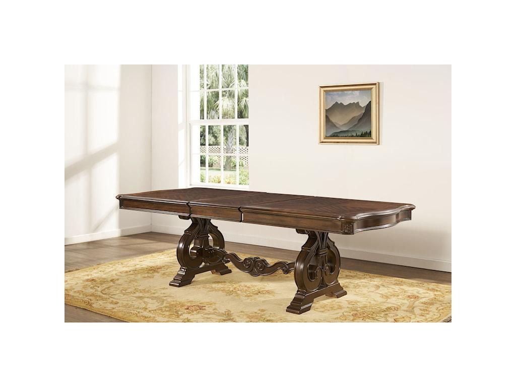 Morris Home RoyaleCathedral Veneer Dining Table