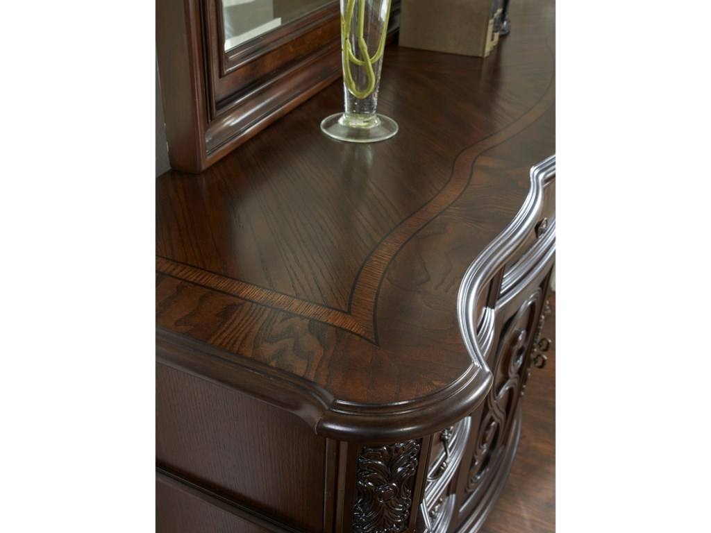 Morris Home RoyaleDresser and Mirror Set