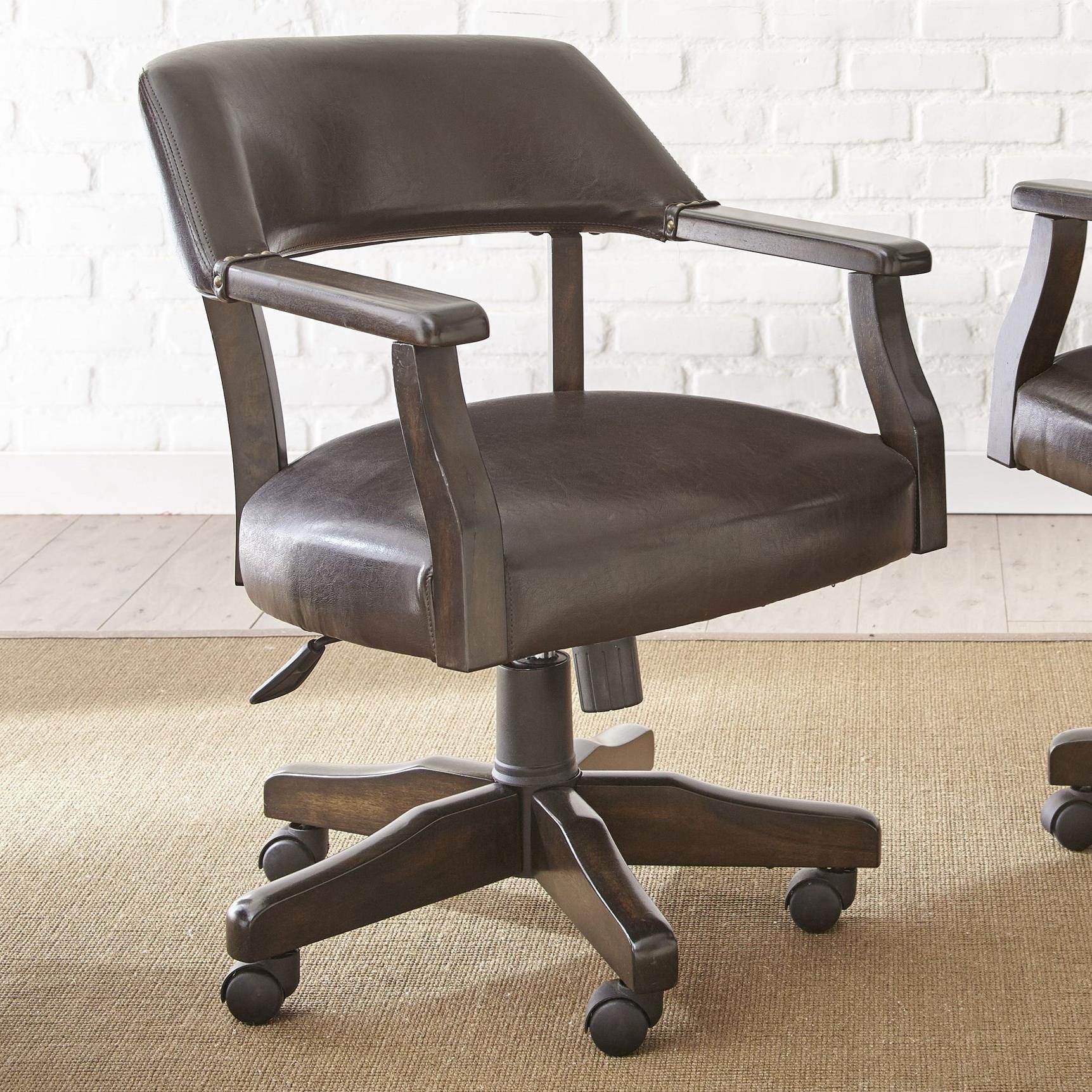 Arm Chair with Nailhead Trim