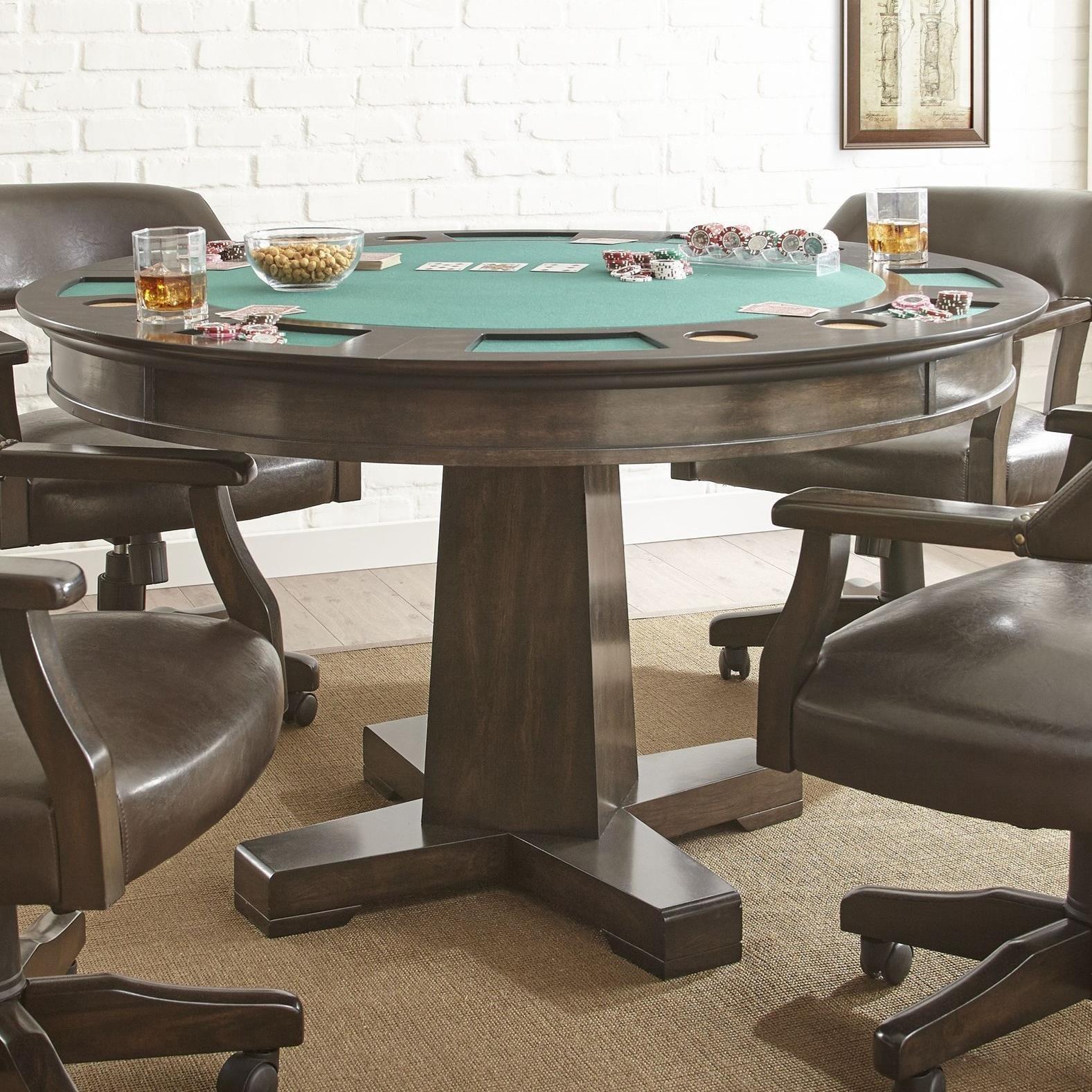 Steve Silver RubyReversible Game Table ...