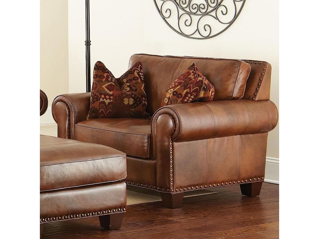 Vendor 3985 silveradotraditional chair and a half