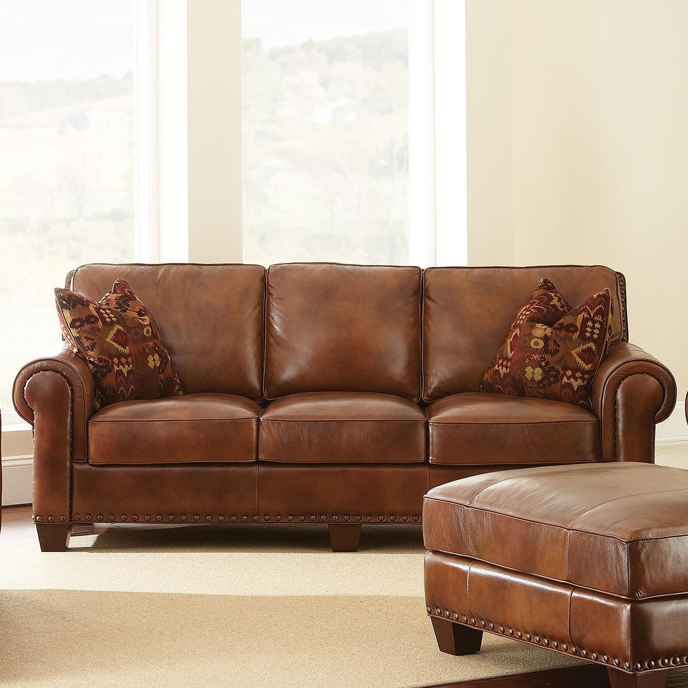 Steve Silver Silverado Traditional Sofa With Nailhead Trim
