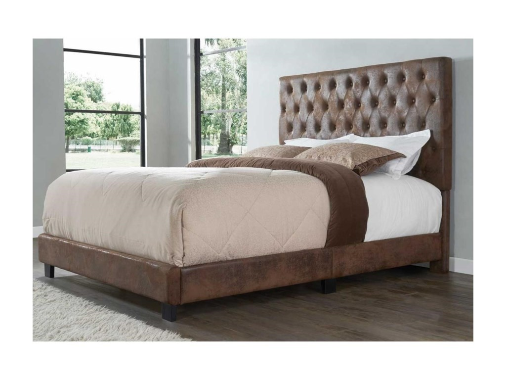 Steve Silver SophiaKing Upholstered Bed