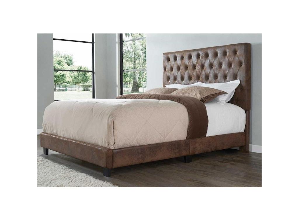 Star SophiaKing Upholstered Bed