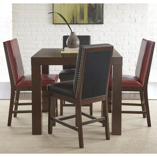 Steve Silver Stella 5 Piece Counter Height Dining Set