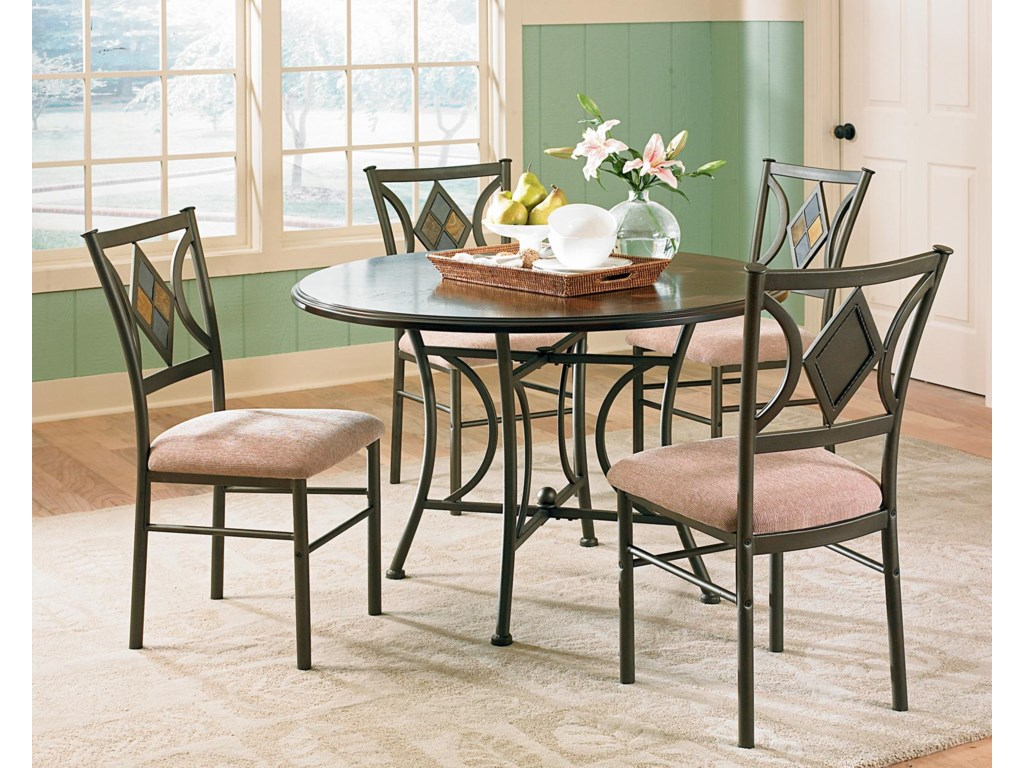 Steve Silver Tacoma5-Piece Table & Chair Set