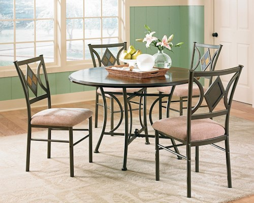 Steve Silver Tacoma 5 Piece Table Chair Set Northeast