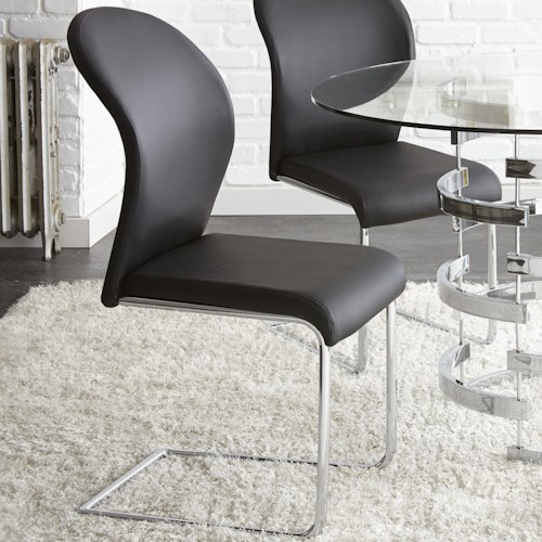Steve Silver Tayside Black Breuer Side Chair