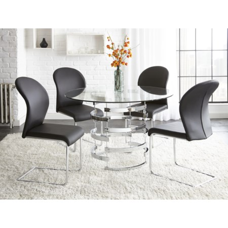 5 Piece Dining Table Set
