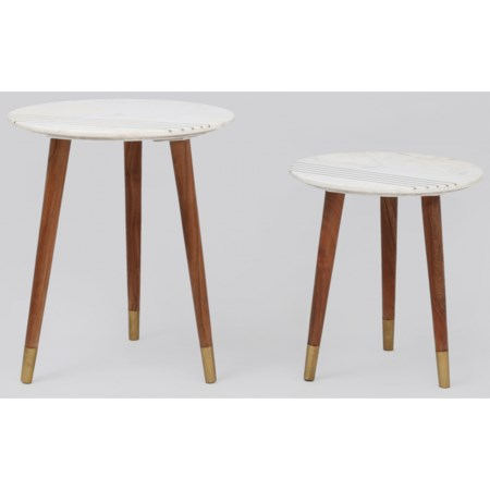 2-Piece Nesting Table Group