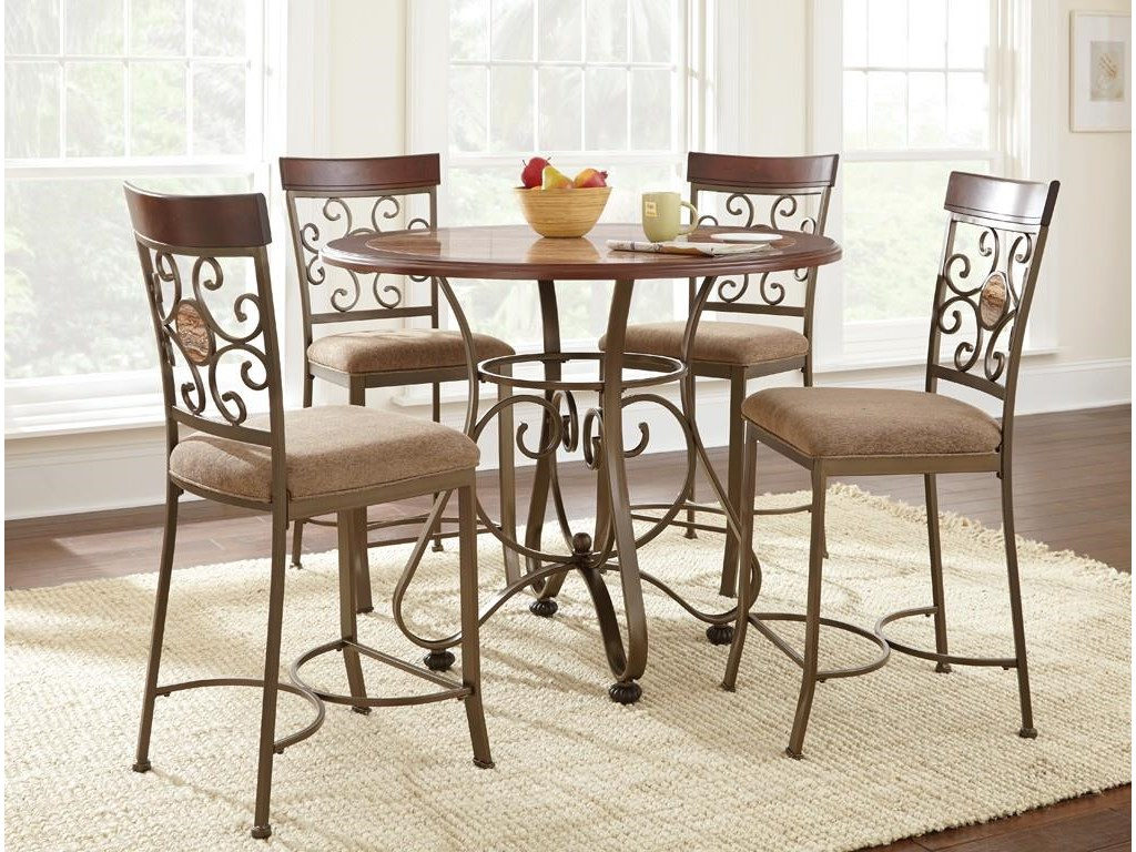 Steve Silver Thompson5 Piece Counter Height Dining Set