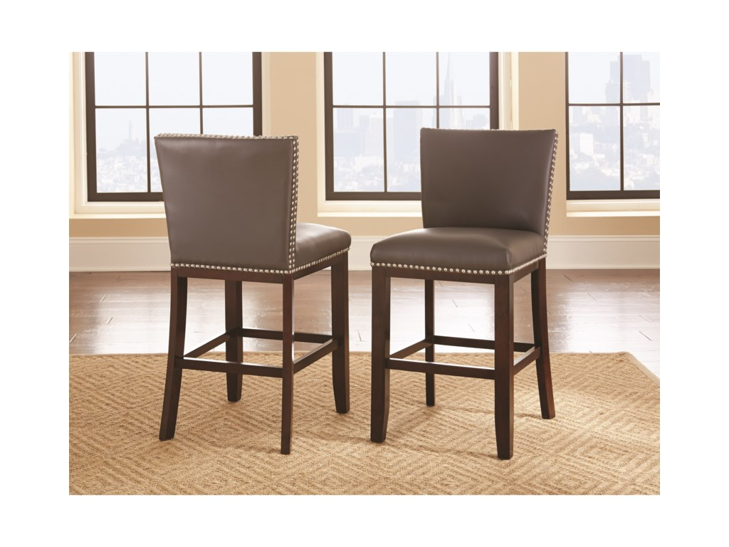 Morris Home TiffanyBonded Counter Chair