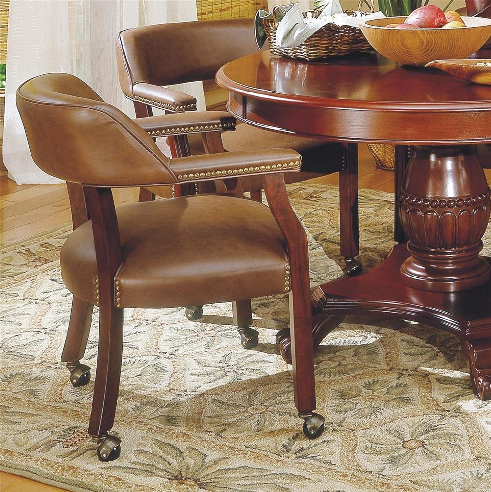 Tournament Game Arm Chair with Casters