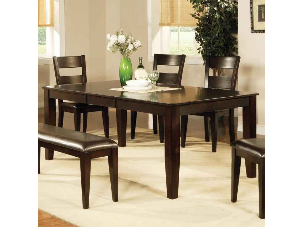 Vendor 3985 Victoria Dining Table With Butterfly Leaf