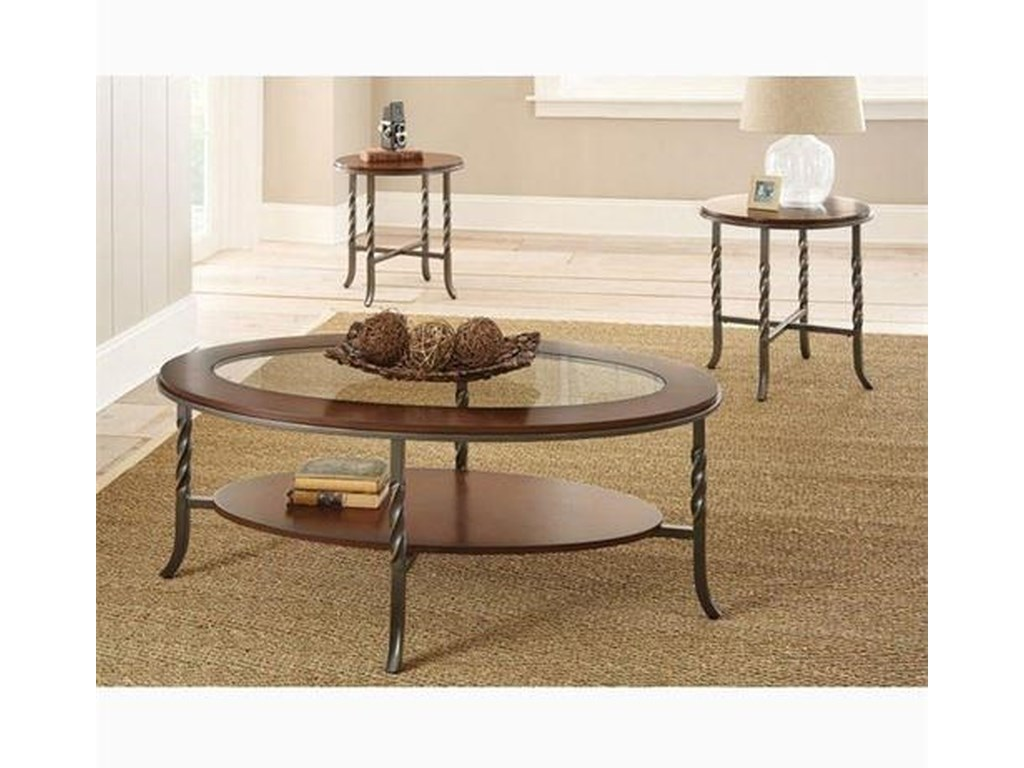 Steve Silver Vance3 Pack of Occasional Tables