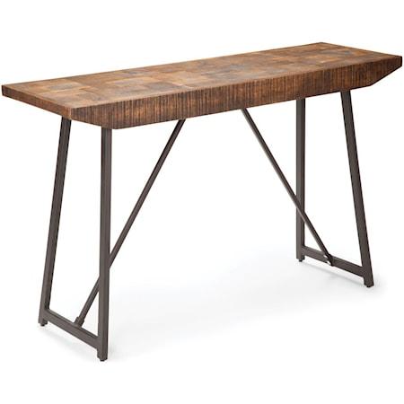 Parquet Sofa Table