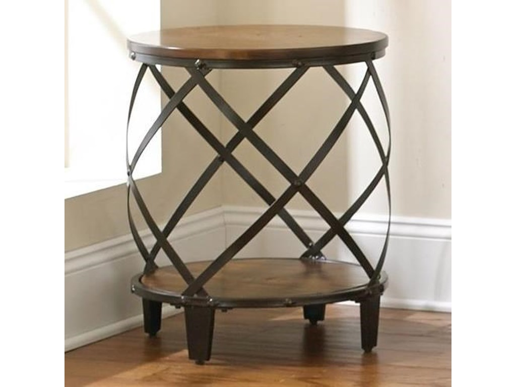 Steve Silver Winston Round End Table