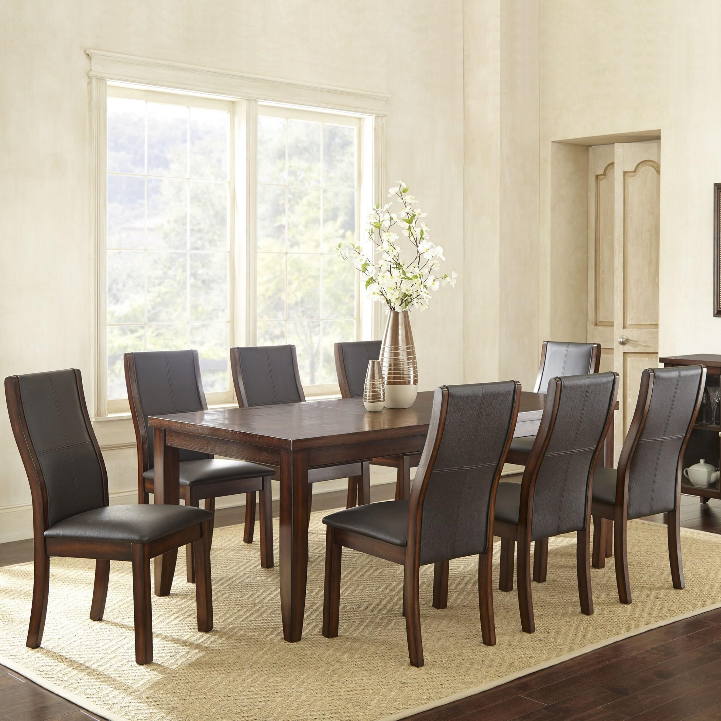 Steve Silver Xander9 Pc Dining Set ...