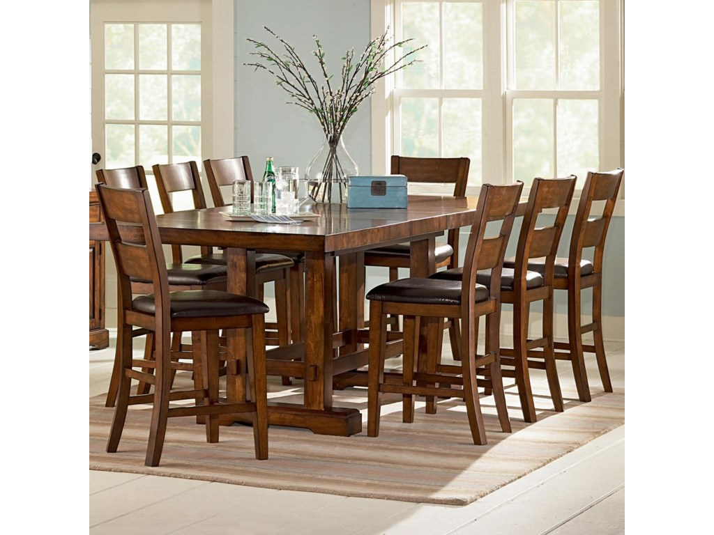 Steve Silver ZappaCounter Height Table & Chair Set