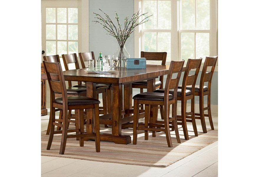 Za Counter Height Table Chair Set
