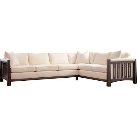 Left Facing Sofa + Right Facing Corner Sofa