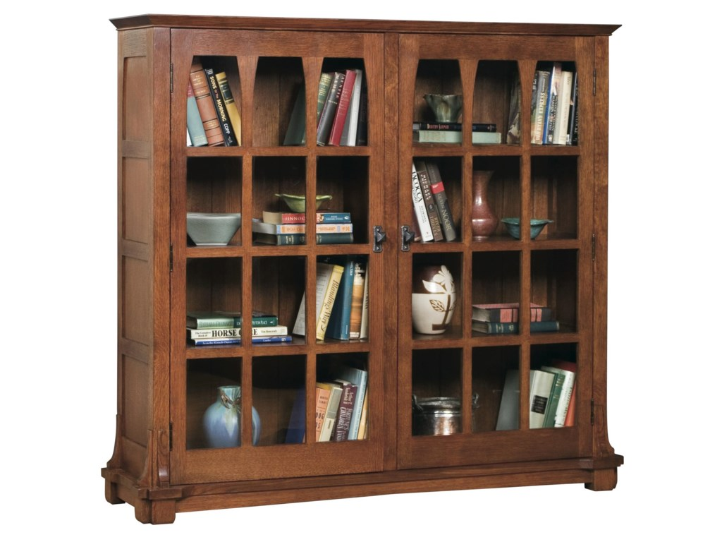 Stickley Oak Mission ClassicsGustav Commemorative Bookcase