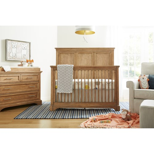 Stone & Leigh Furniture Chelsea Square Crib Bedroom Group