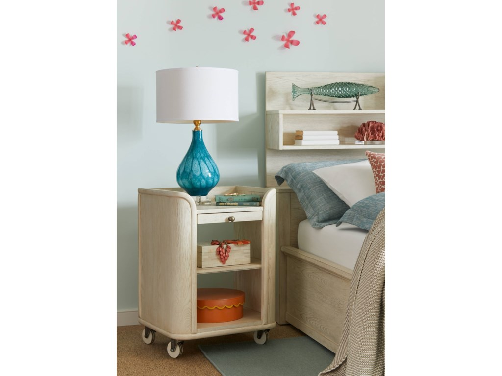 Stone & Leigh Furniture Driftwood ParkBedside Storage Table