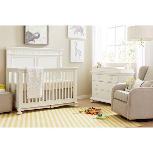 Stone & Leigh Furniture Smiling Hill Crib Bedroom Group