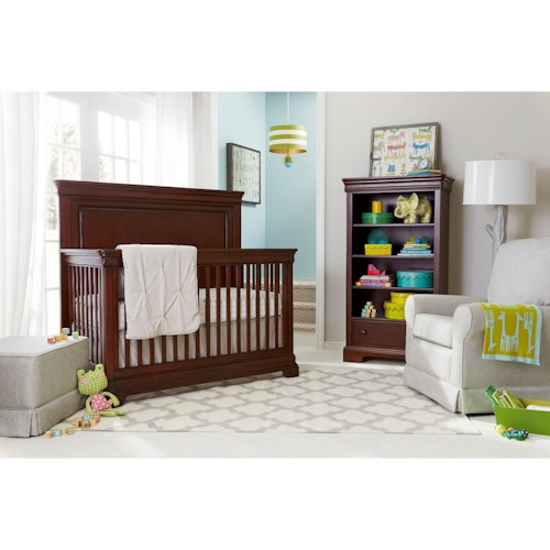 Stone & Leigh Furniture Teaberry Lane Crib Bedroom Group