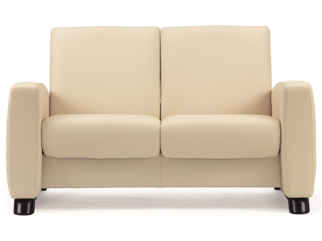 Stressless Arion 19 - A10Low-Back Reclining Loveseat